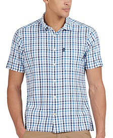 Men's Tattersall Check Seersucker Shirt