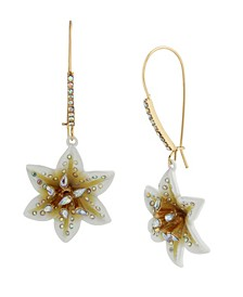 Lily Flower Dangle Earrings