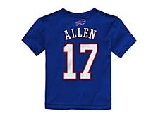 Buffalo Bills Toddler Mainliner Player T-Shirt - Josh Allen