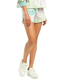 Petite Tie-Dyed Shorts