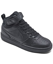 Big Kids Court Borough Mid 2 Casual Sneakers from Finish Line