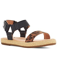 Toddler Rynell Leopard Flat Sandals