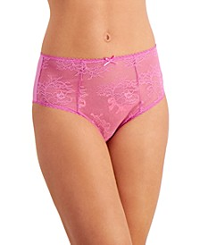 INC Women's Cheeky Lace Brief Underwear, Created for Macy's