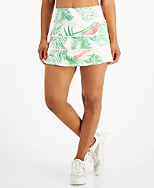 Women's Palms-Print Tiered Skort, Created for Macy's