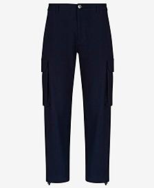 Men's Cotton Denim Cargo Pants
