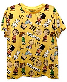 Juniors' Peanuts Graphic T-Shirt