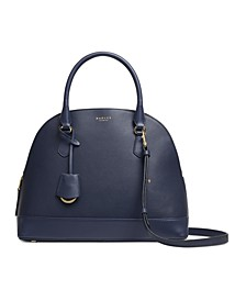 Anchor Mews Medium Leather Dome Satchel