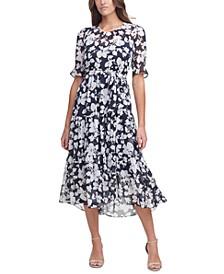 Sunday Floral-Print Maxi Dress