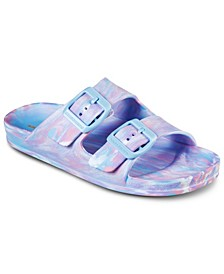 Girls Foamies: Cali Blast - Color Rager Slide Sandals from Finish Line
