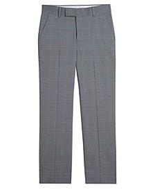 Big Boys Stretch Subtle Windowpane Pants