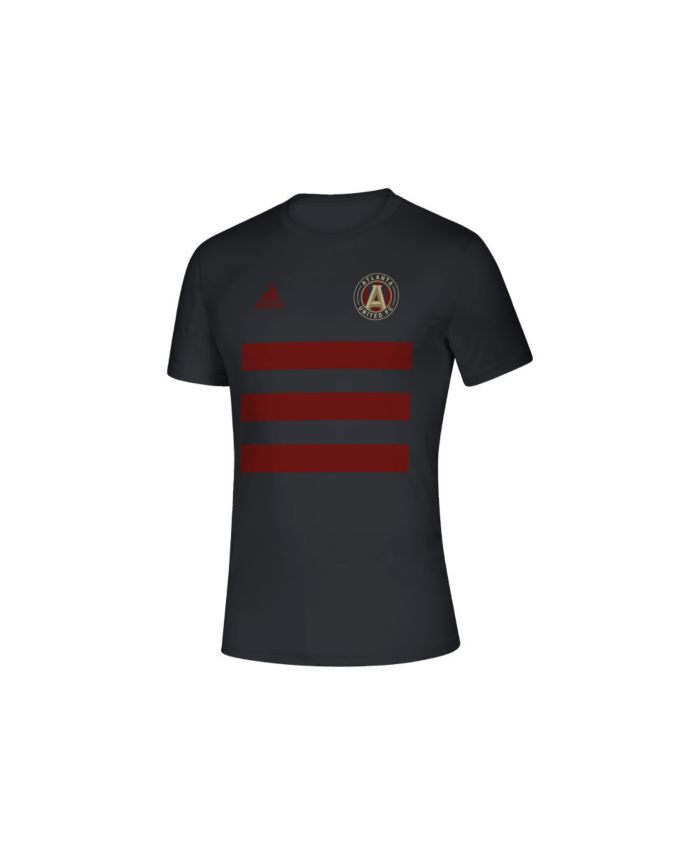 Adidas Men's Atlanta United FC Three Stripe Life Pitch Creator T-Shirt & Reviews - Soccer - Sports Fan Shop - Macy's
