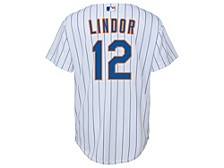 New York Mets Youth Official Player Jersey - Francisco Lindor