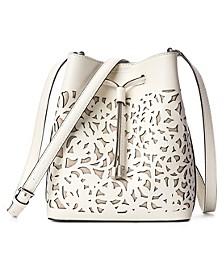 Mini Debby II Perforated Leather Bag