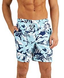 Men's Quick-Dry UPF 50+ Island Camo Swim Trunks