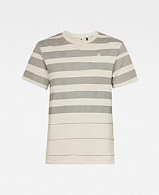 Men's Pixalated Stripe T-shirt