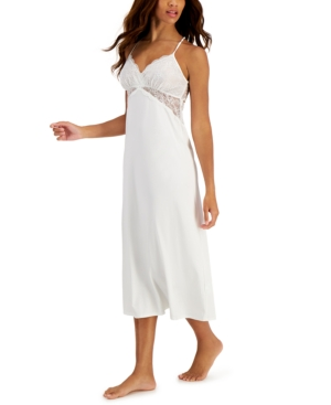 Lace Long Chemise Nightgown
