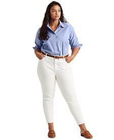 Plus Size Superstretch High-Rise Jeans