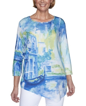 Women's Missy Look On The Brightside Scenic Top