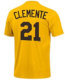Men's Pittsburgh Pirates Cooperstown Player Roberto Clemente T-Shirt