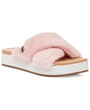 Koolaburra By Ugg Sandals WOMEN'S ROUBIE FUZZ SANDALS WOMEN'S SHOES