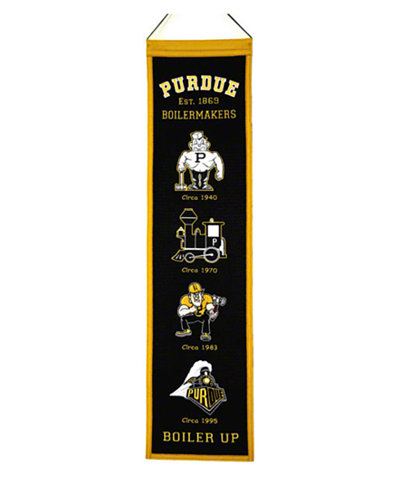 Winning Streak Purdue Boilermakers Heritage Banner
