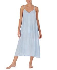 Striped Maxi Nightgown
