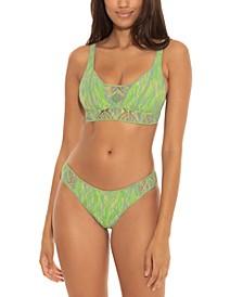Mosaic Crochet Bikini Top & Bikini Bottoms