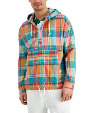 Men's Madras Plaid Jacket