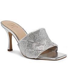 Women's Liah Braided Slide Heels, Created for Macy's