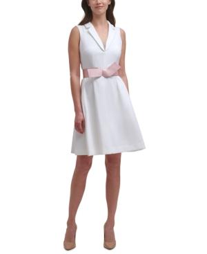 A-Line Belted Dress