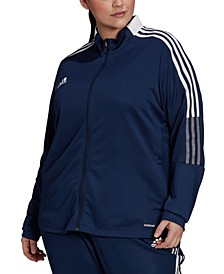 Plus Size Tiro 21 Track Jacket