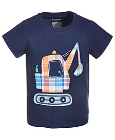 Toddler Boys Digger Cotton T-Shirt, Created for Macy's