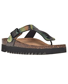 Barnett Thong Footbed Sandals, Created for Macy's