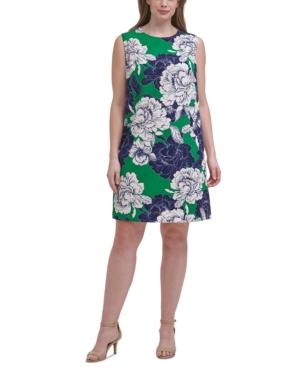 Plus Size Printed Shift Dress