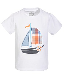 Baby Boys Sailboat Cotton T-Shirt, Created for Macy's