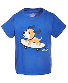 Toddler Boys Skateboard Dog T-Shirt, Created for Macy's