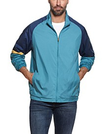 Men's Full Zip Color Block Jacket