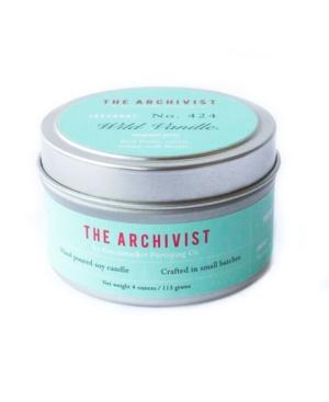 Archivist Wild Vanilla Soy Candle