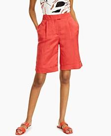 Petite Bermuda Shorts, Created for Macy's
