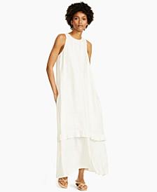 Ruffled Sleeveless Maxi Dress, Created for Macy's