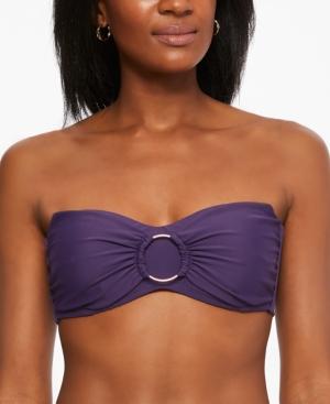 Ring Bandeau Bikini Top