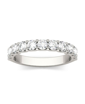 Moissanite Anniversary Band 1-1/10 ct. t.w. Diamond Equivalent in 14k White or Yellow Gold