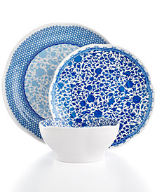Q Squared Heritage Melamine Dinnerware Collection