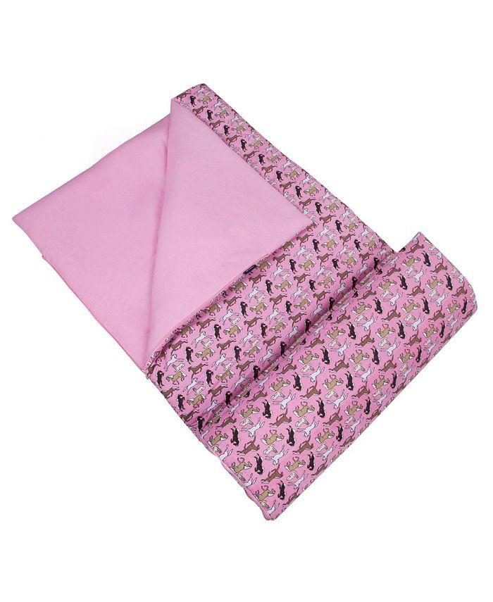 Wildkin - Horses in Pink Sleeping Bag