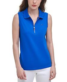 Zip Polo Shirt