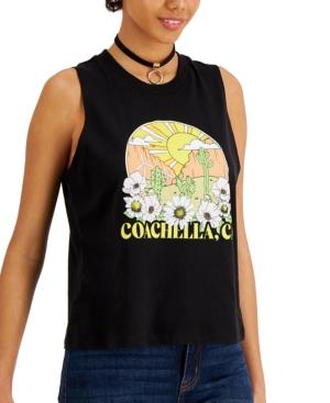 Juniors' Coachella-Graphic Tank Top