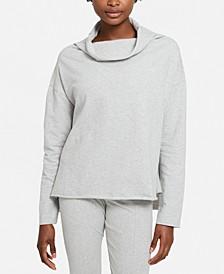 Women's Core Brushed Fleece Funnel-Neck Top