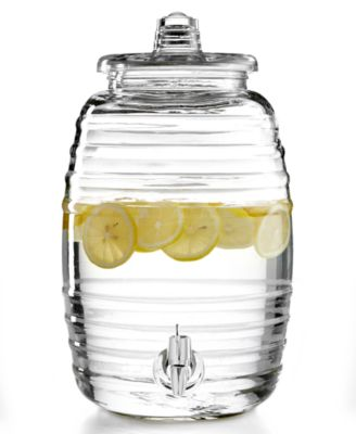 2.5-Gallon Barrel Beverage Dispenser, Created for Macy's
