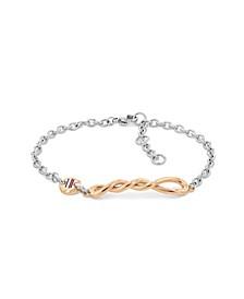 Women's Two-Tone Bracelet