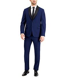 Men's Slim-Fit Comfort Stretch Navy Tuxedo